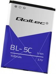 Qoltec bateria do Nokia 2700 N70 BL-5C, 1020mAh