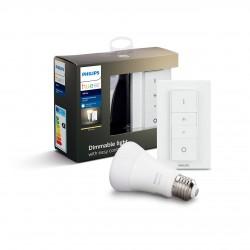 Philips Hue zestaw grzybek E27 W 9,5W BT + przełącznik