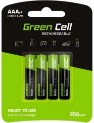 Green Cell AAA HR03 950 mAh (4szt.)