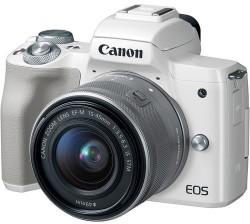 Canon EOS M50 Biały + M15-45mm
