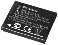 Panasonic akumulator DMW-BCL7E