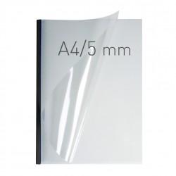 O.easy COVER Double Clear A4 5mm czarny 40szt