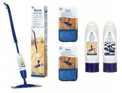 Bona Spray Mop do podłóg drewnianych - zestaw powiększony