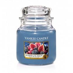 Yankee Candle Mulberry & Fig Delight słoik średni 411g