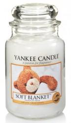 Yankee Candle Soft Blanket Słoik duży 623g
