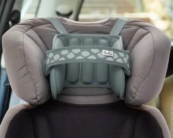 NapUp Opaska podtrzymująca głowę w foteliku samochodowym - szara