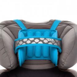NapUp Opaska podtrzymująca głowę w foteliku samochodowym - niebieska