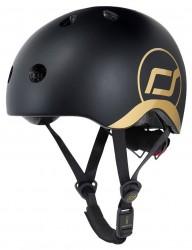 Scoot & Ride Kask XXS-S Gold EDYCJA LIMITOWANA