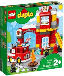 Lego Duplo Town Remiza strażacka