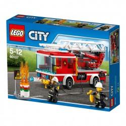 Lego City Fire Wóz Strażacki Z Drabiną 60107 Cena Raty Sklep