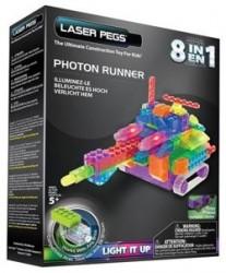 Laser Pegs 8in1 Photon Runner, Klocki 93 el. RN2180B