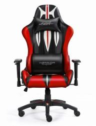 Warrior Chairs Sword Czarno-Czerowny