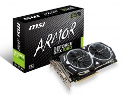MSI GeForce GTX 1080 ARMOR OC 8GB GDDR5X VR Ready