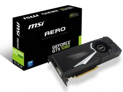 MSI GeForce GTX 1080 AERO 8GB GDDR5X VR Ready