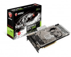 MSI GeForce GTX 1080 SEA HAWK EK X 8GB GDDR5X VR Ready