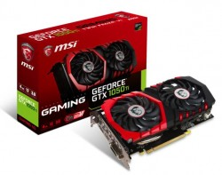 MSI GeForce GTX 1050 Ti GAMING 4GB