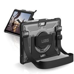 UAG Plasma-obudowa ochronna z wbudowaną podstawką oraz paskiem na dłoń i ramię do Surface Go
