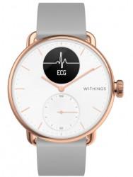 Withings Scanwatch (38mm) - różowe złoto