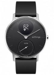 Withings Activité Steel HR (36mm) - czarny