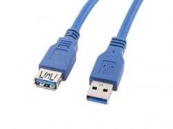Lanberg USB 1.8m niebieski