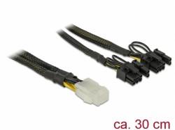 Delock 6pin - 2x 8/6 pin oplot