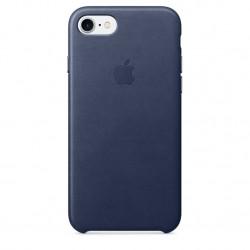Apple iPhone 7 Leather Case nocny błękit