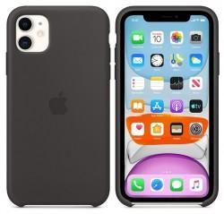 Apple iPhone 11 Silicone Case czarny
