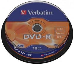 DVD-R Verbatim 10szt