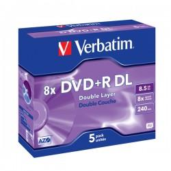 DVD+R Verbatim DL box 5szt