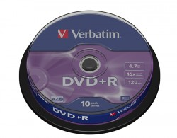DVD+R Verbatim 10 szt