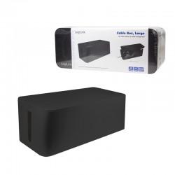 LogiLink Cable Box L czarny