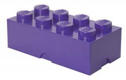 Lego Storage Brick 8 fioletowy
