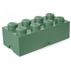 Lego Storage Brick 8 oliwkowy