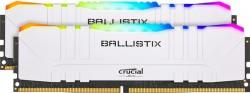 Crucial Ballistix RGB White 16GB [2x8GB 3200MHz DDR4 CL16 DIMM]
