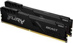 Kingston Fury Beast 16GB [2x8GB 2666MHz DDR4 CL16 DIMM]