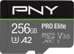 PNY PRO Elite microSDXC 256GB + Adapter SD