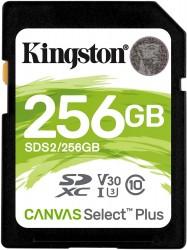 Kingston SDXC Canvas Select Plus 256GB 100R Class 10 UHS-I