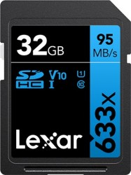 Lexar SDHC 32GB Professional 633x UHS-I