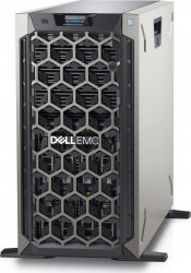 DELL PE T340 Intel Xeon E2234 Chassis 8 x 3.5 HotPlug 16GBub 2x480GB SSD Casters Bezel DVD RW PERC H330 iDRAC9 Exp Redundant 495W 3y