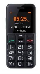 myPhone Halo Easy czarny