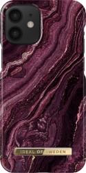iDeal of Sweden Fashion - etui ochronne do iPhone 12 mini golden plum