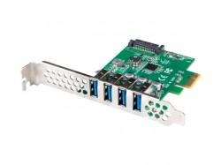 Lanberg kontroler PCI-E 4x USB 3.1