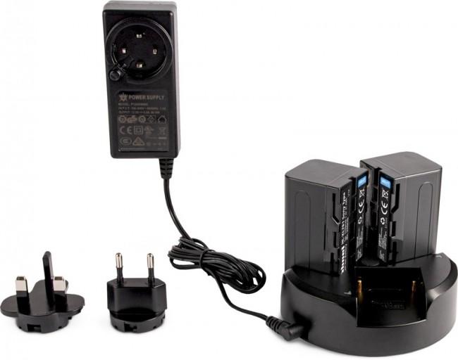 Hahnel Trio Charger Sony L-series Kit - zdjęcie główne