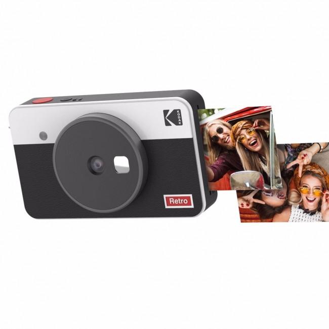 Kodak Mini shot Combo 2 Retro biały - zdjęcie główne