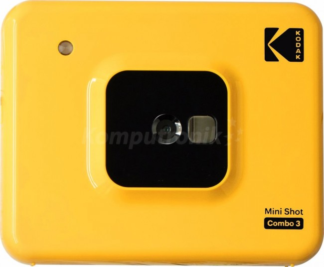 Kodak Mini shot Combo 3 żółty - zdjęcie główne