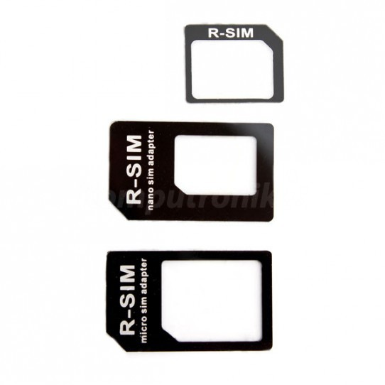 Xqisit Adapter Nano + Micro SIM - zdjęcie główne