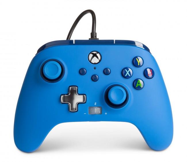 PowerA Xbox Pad przewodowy Enhanced Niebieski - zdjęcie główne