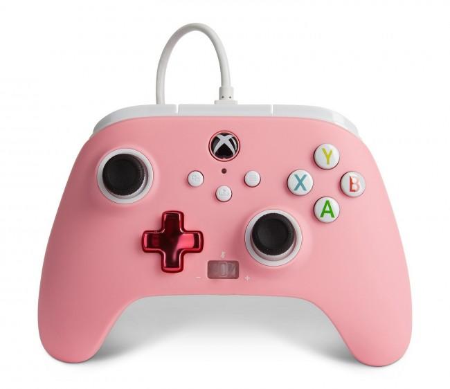 PowerA Xbox Pad przewodowy Enhanced Różowy - zdjęcie główne