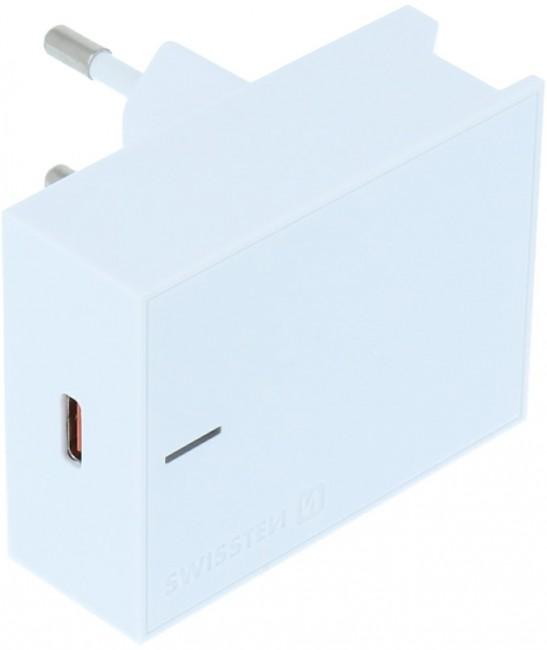Swissten Travel Charger Power Delivery 3.0 18W biały - zdjęcie główne