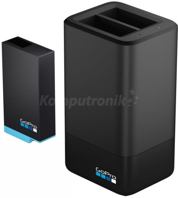 GoPro Dual Battery Charger + Battery (MAX) - zdjęcie główne